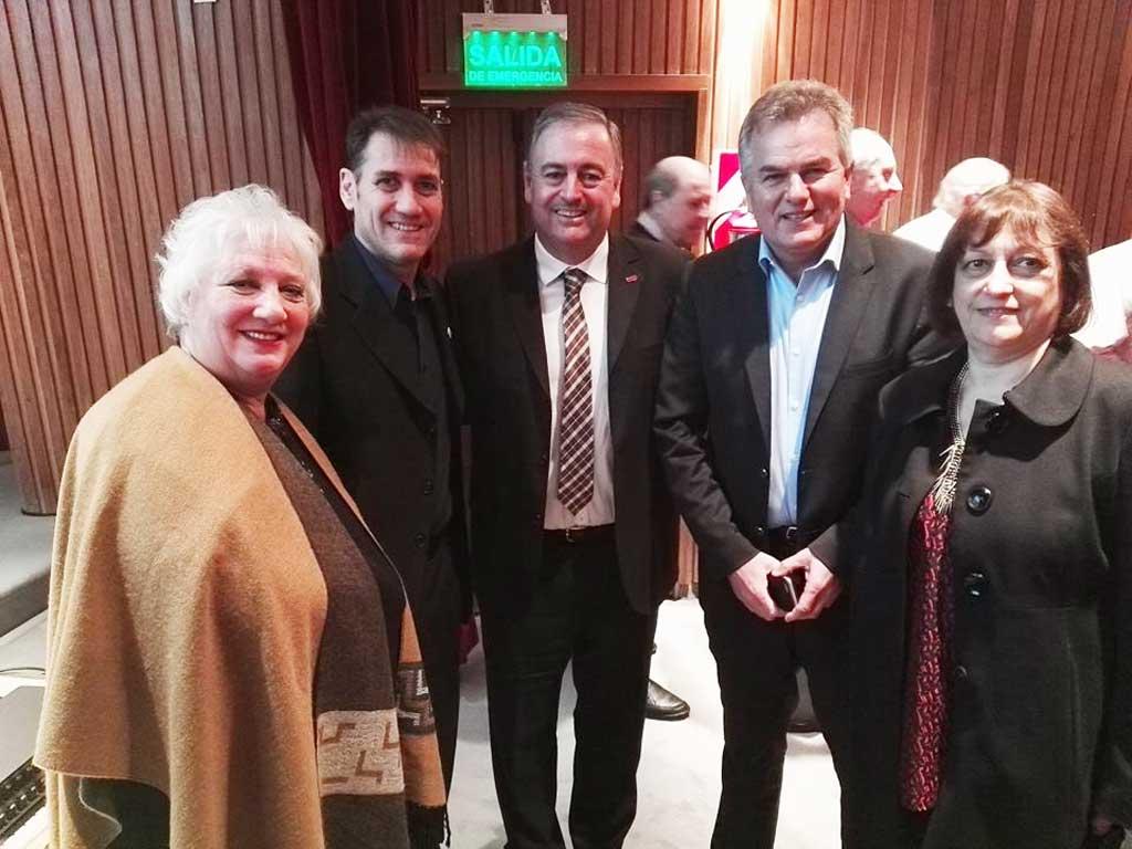 Encuentro de Dirigentes y Profesionales de la ESyS en Bahía Blanca: