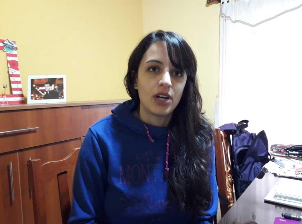 Carolina Lázzari fue becada para realizar un doctorado en Estados Unidos