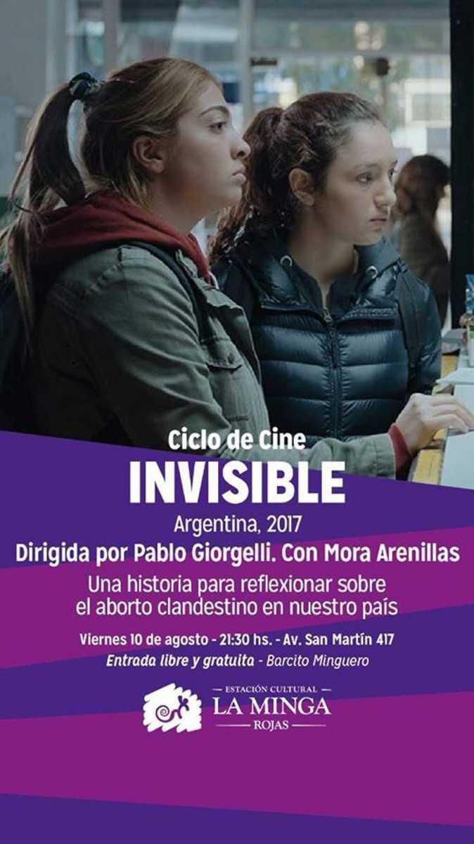 """""""Invisible"""" en el CineClub en"""