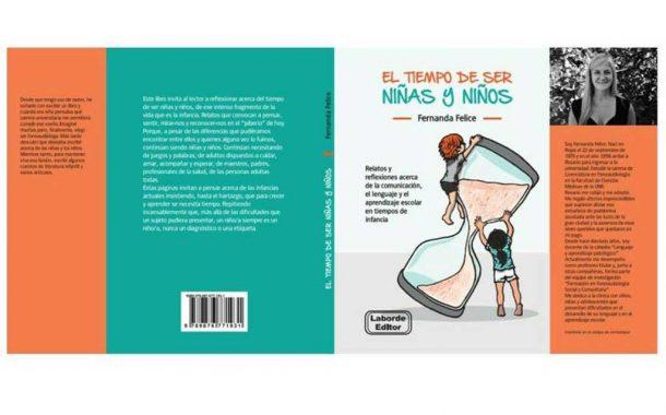 La rojense Fernanda Felice presenta su libro