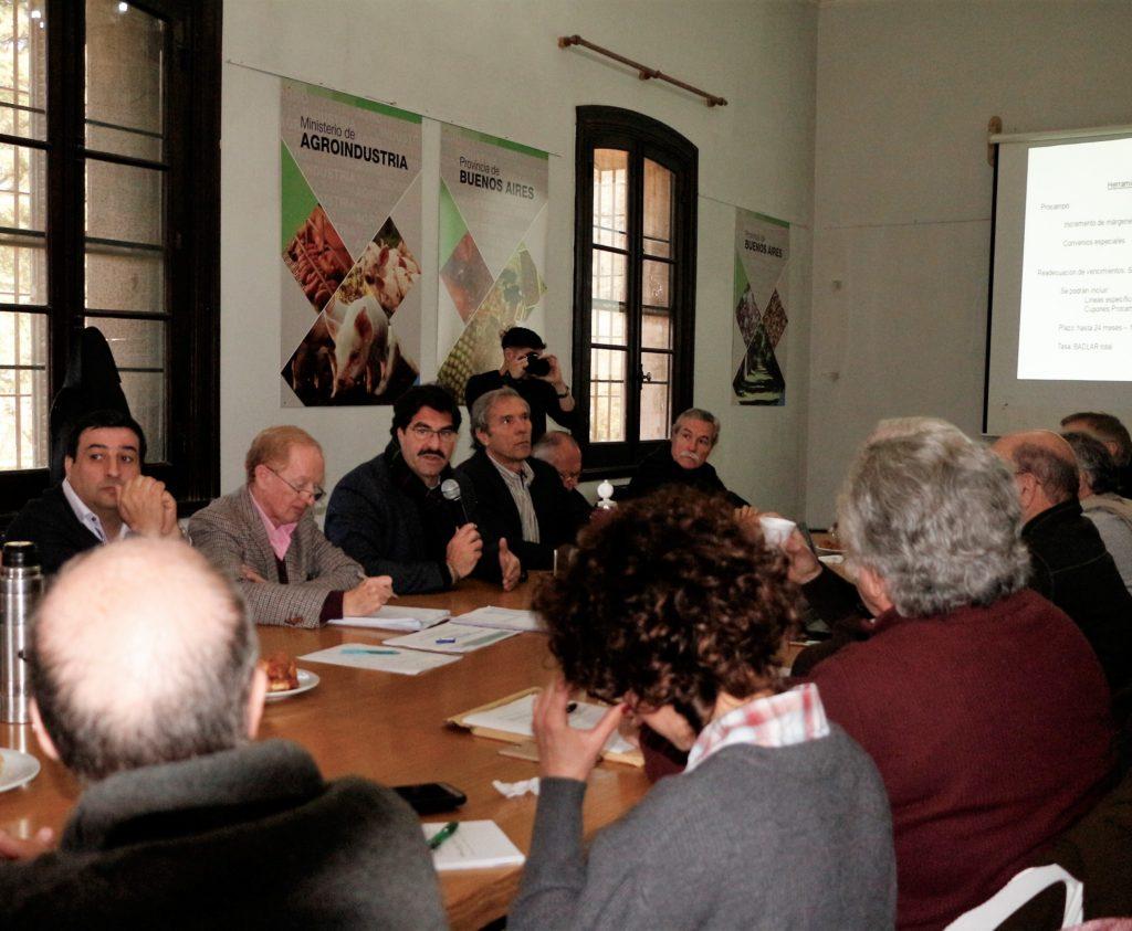 Sarquís en una nueva jornada de la Mesa Lechera Provincial