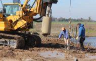Comenzó la construcción del nuevo puente del arroyo Saladillo de La Vuelta