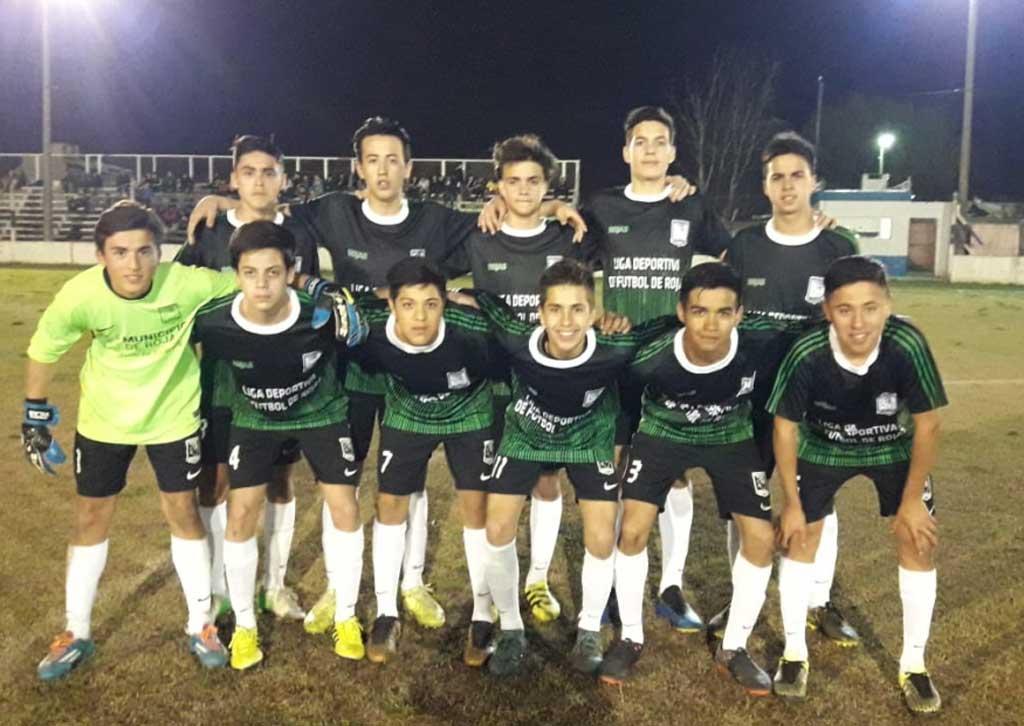Fútbol: la selección sub 15 perdió con Chacabuco
