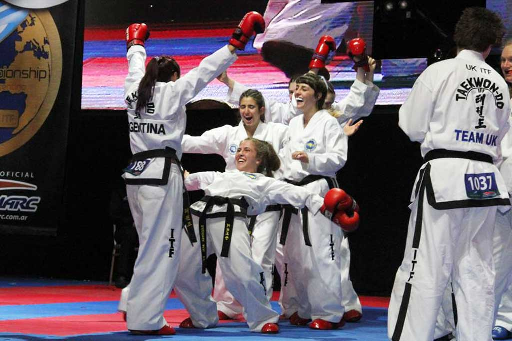 Sabrina Mai se consagró campeona mundial de Taekwondo