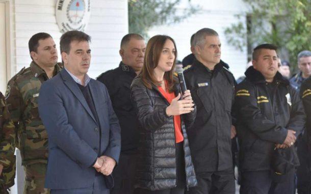 Vidal anunció nuevas reformas en la Policía bonaerense