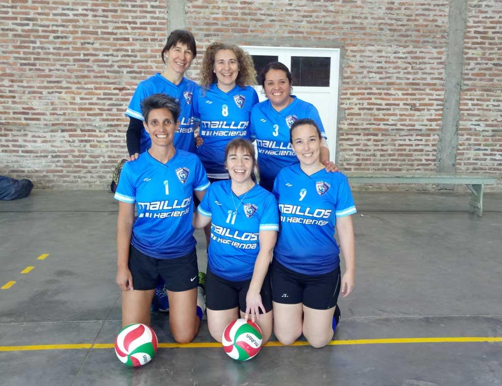 Voley: el equipo femenino del CEF clasificó a los play off