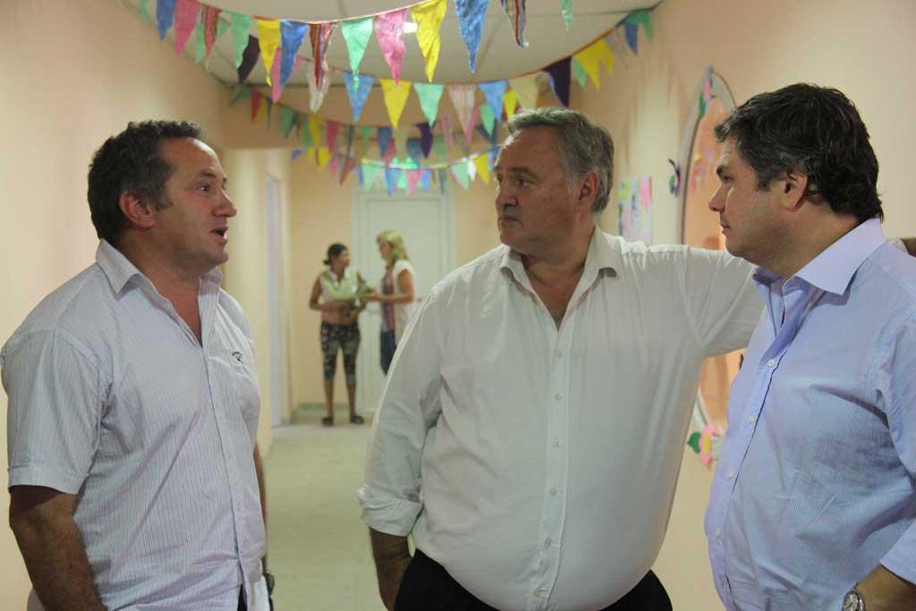 Ministros de Vidal reciben a intendentes peronistas del Fondo Sojero