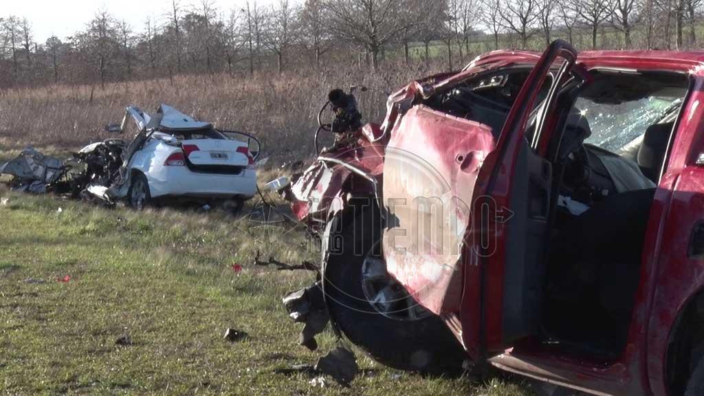 Laborde brindó detalles sobre el accidente ocurrido en Ruta 31 donde fallecieron dos personas