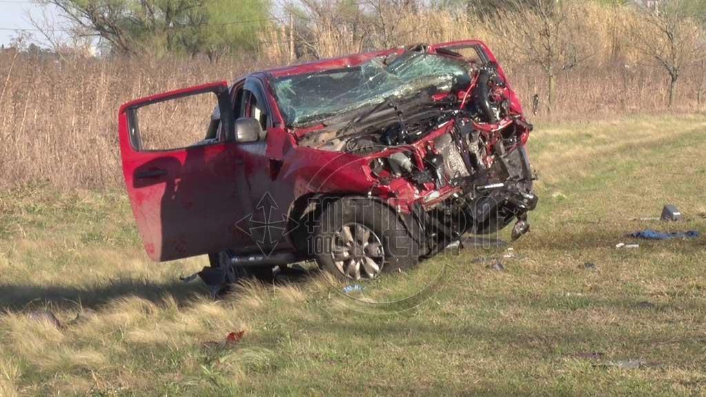 El informe policial sobre el accidente ocurrido en ruta 31 donde perdieron la vida dos personas