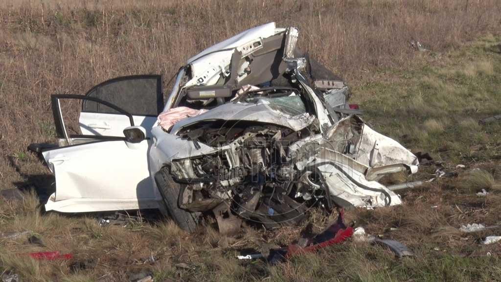 Dos personas perdieron la vida en un fatal accidente en Ruta 31