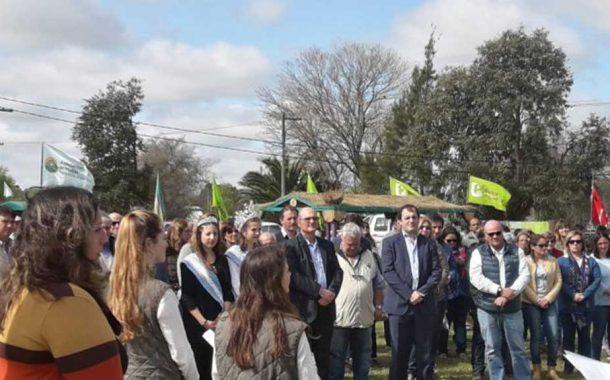 Inauguraciones oficiales en las multiexpo CARBAP del fin de semana en Buenos Aires y La Pampa.