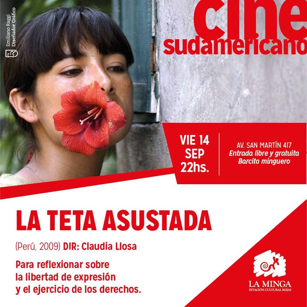 """""""La teta asustada"""" en el Cine Club en La Minga"""
