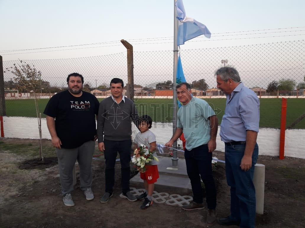 El Club Juventud rindió homenaje a Jorge Simón