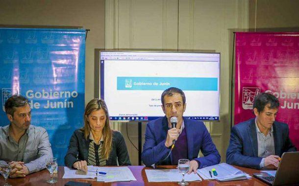 Petrecca anunció proyectos y un decreto con eje en la transparencia