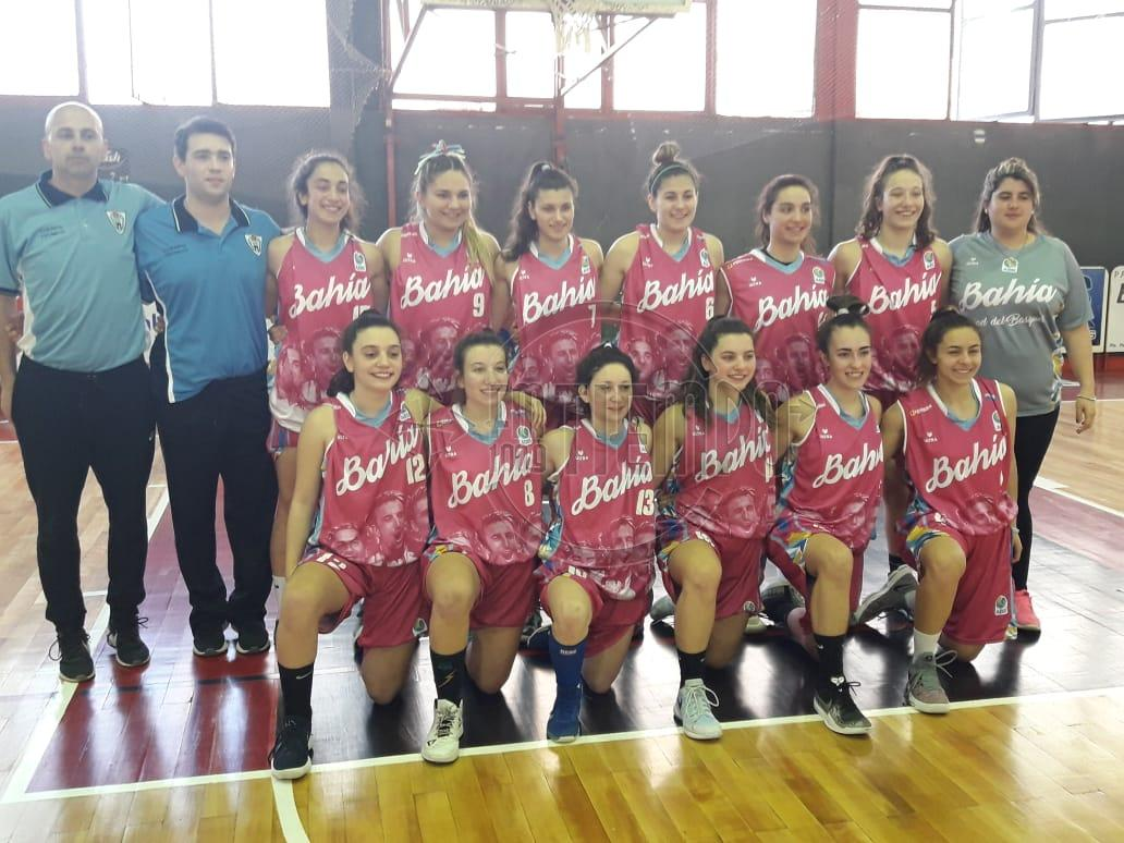 Provincial de básquet femenino U19: Bahía Blanca volvió a ganar y tiene puntaje perfecto