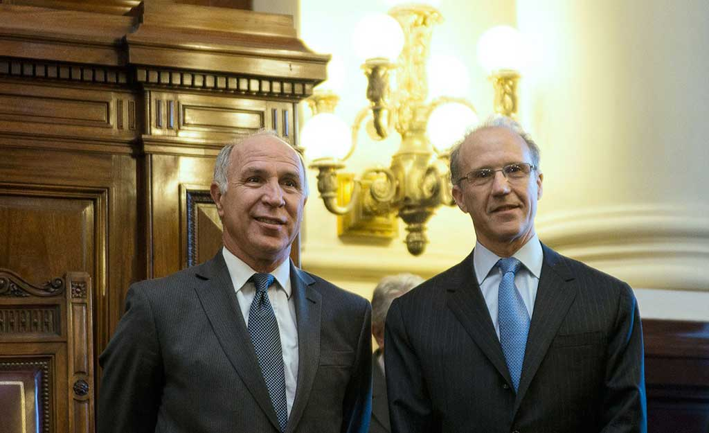 Lorenzetti dejará la presidencia de la Corte Suprema y lo reemplazará Rosenkrantz