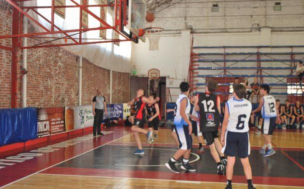 Básquet: Sportivo recibió a Sports en inferiores