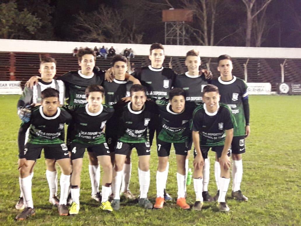 Fútbol: la selección sub 15 ganó y está en zona de clasificación