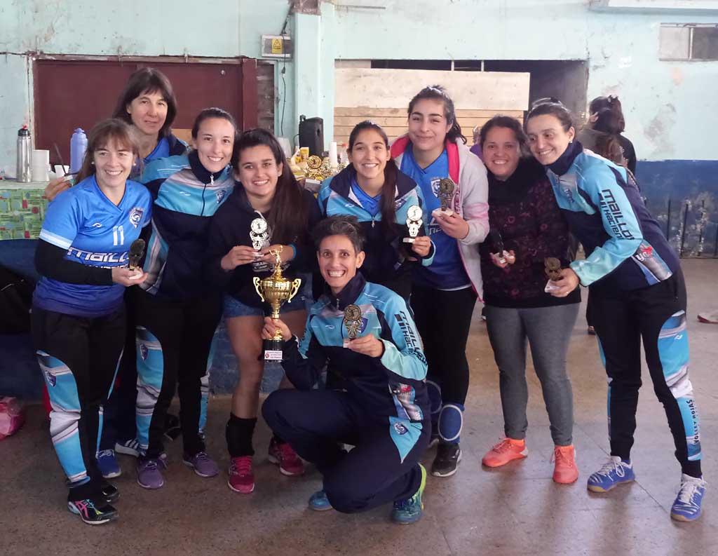 Voley: El CEF se consagró campeón de la Liga Femenina