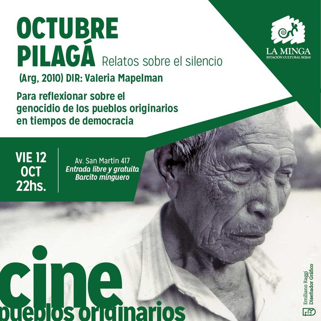 """""""Octubre Pilagá"""" en el Cine Club en La Minga"""
