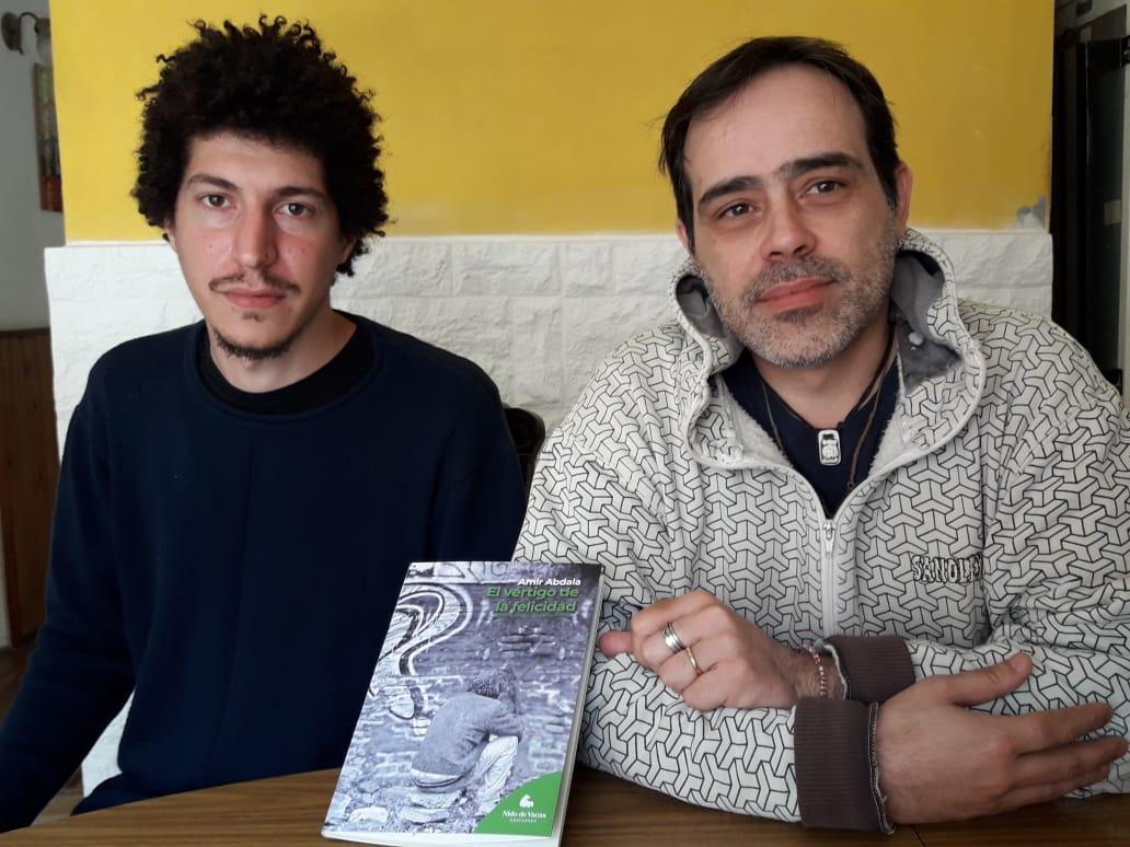 Amir Abdala presenta su primera novela,