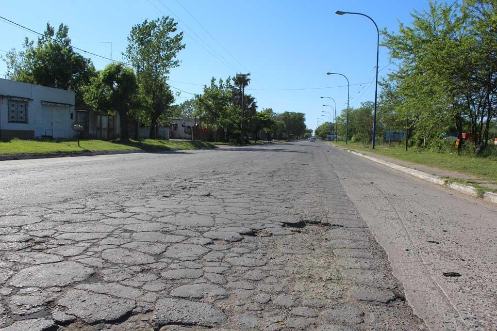 Licitación pública para reasfaltar avenida Fuerte Federación