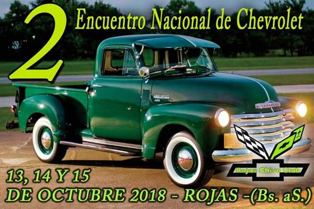 Ultiman detalles para el segundo encuentro nacional de Chevrolet en Rojas