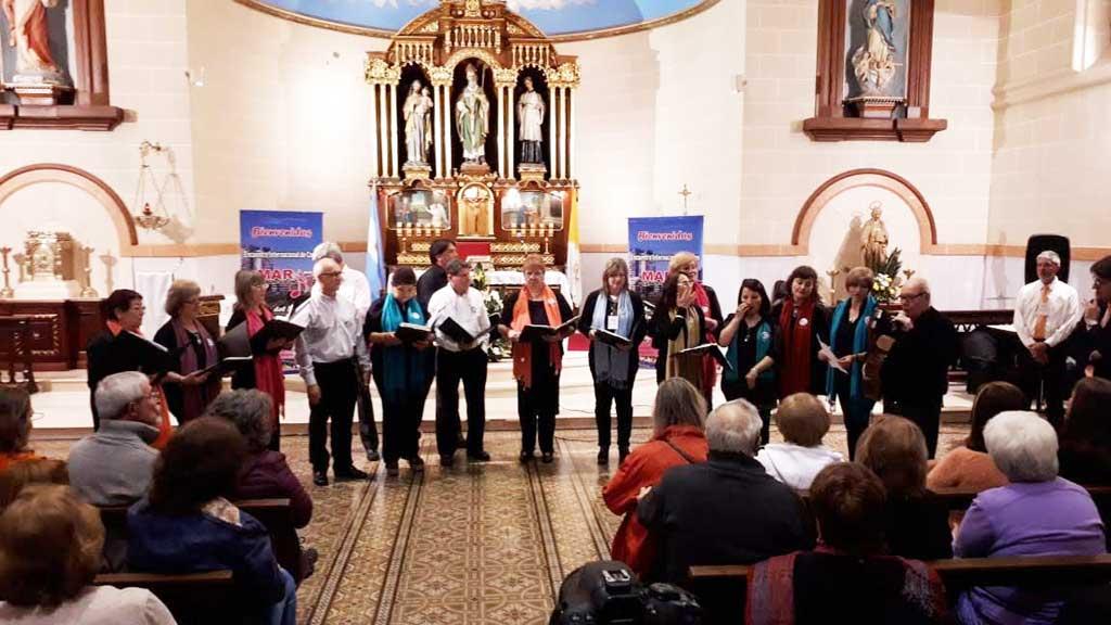 El Grupo Coral Carabelas participó de la primera fecha del XI Encuentro Internacional de Coros