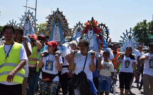 Guadalupe Echecopar sobre la peregrinación a Luján: