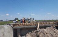 Importantes avances en la construcción de los dos puentes