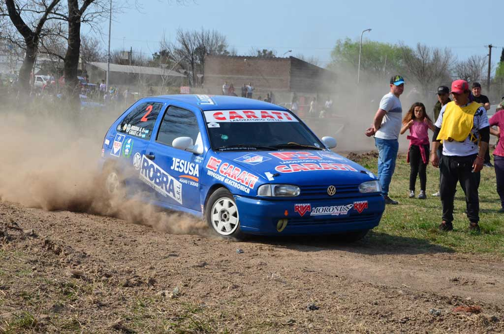 El Rally Santafesino corre en Arteaga