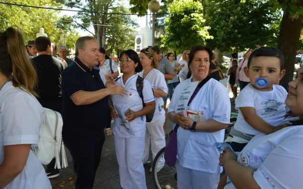 """Alessandro: """"Los enfermeros son un pilar fundamental en el sistema de Salud"""""""