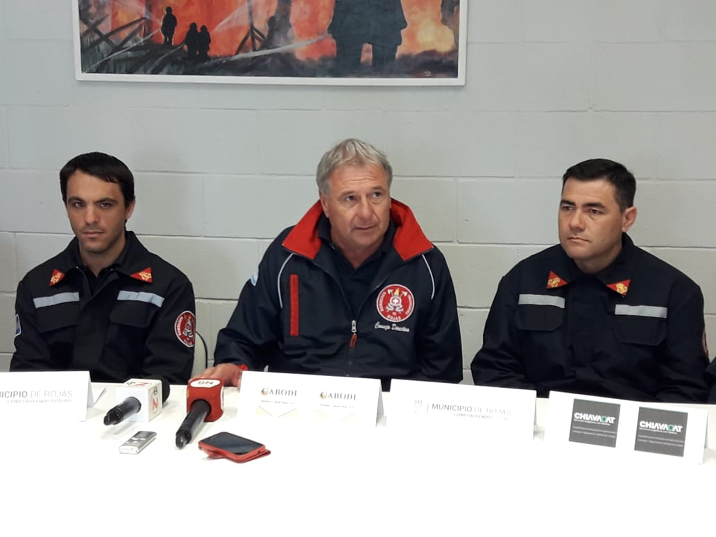 Bomberos de nuestra ciudad viajaran a Chile para realizar capacitación