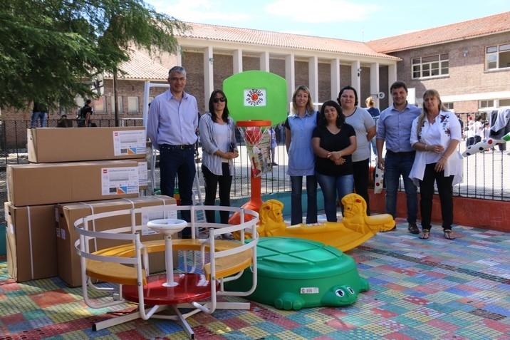 Puglielli apuesta a la infraestructura escolar de San Andrés de Giles