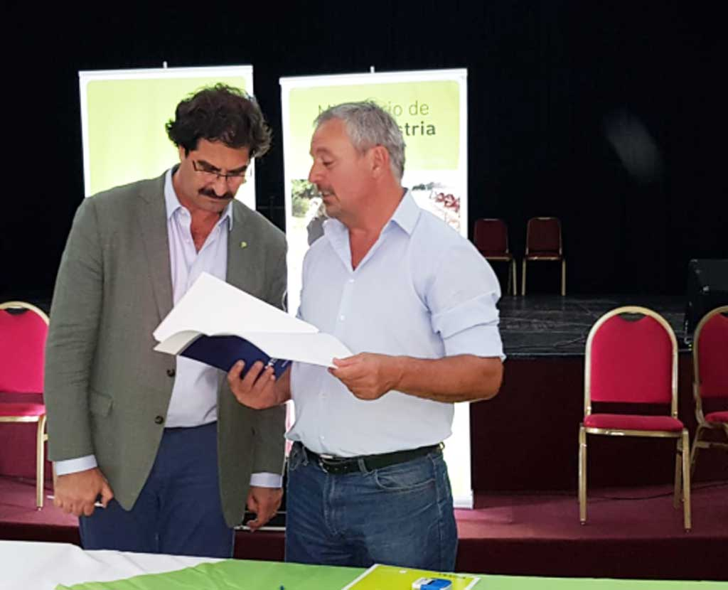 Rossi firmó el Convenio de Adhesión para la implementación del Documento Único de Traslado