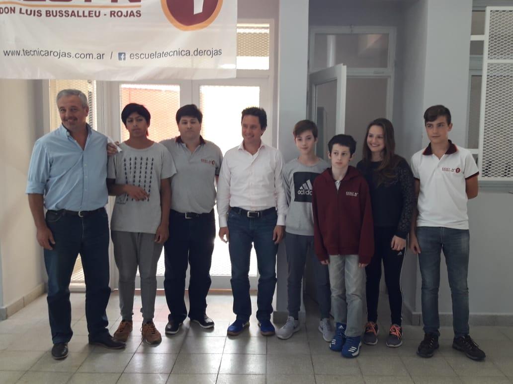 El Ministro Sanchez Zinny inauguró las obras de ampliación de la Escuela Técnica