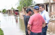 Son más de 1.800 los evacuados en la provincia debido al fuerte temporal