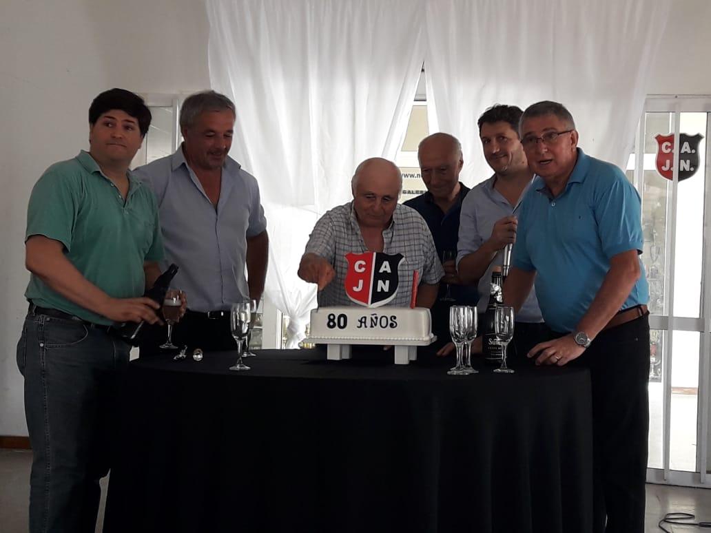 El Club Jorge Newbery festejó sus 80 años