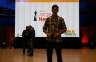 Federico Ferrari estatuilla de Plata en los Premios Jorge Newbery