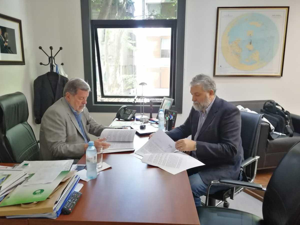 Importante acuerdo entre el MCTI y la unsada