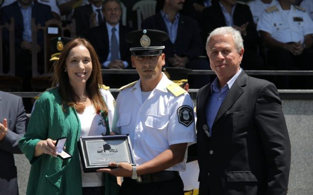 Pacífico destacó la creación del Instituto Universitario Policial Provincial