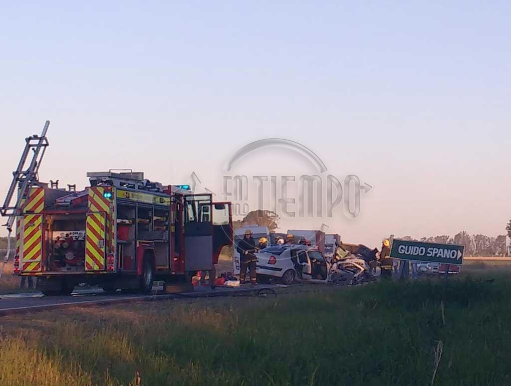 Cinco personas pierden la vida en un trágico accidente en ruta 31