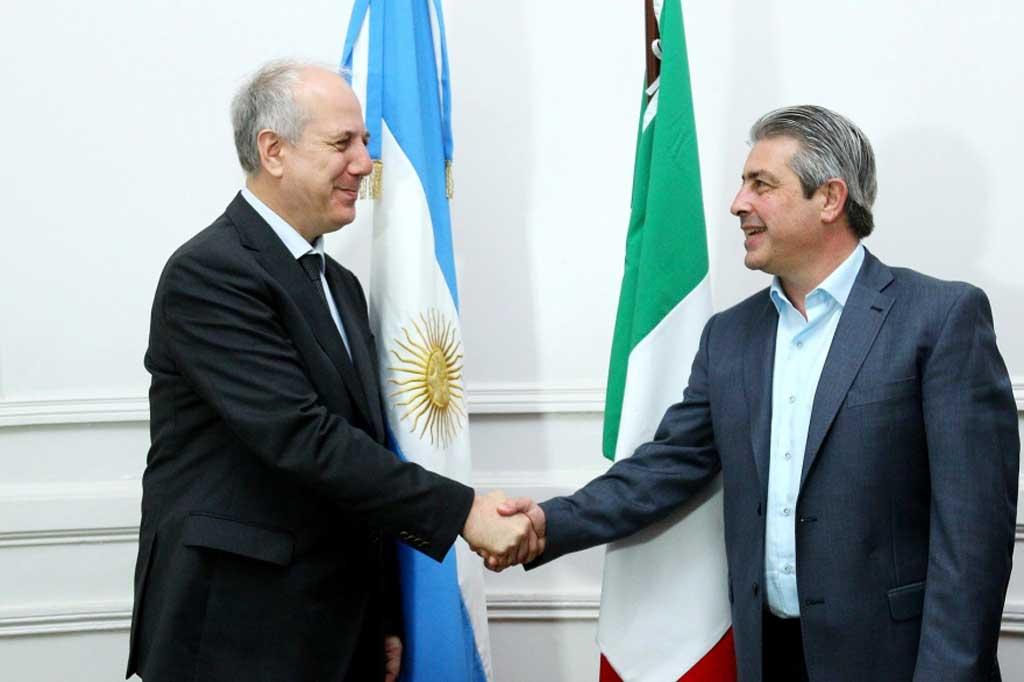 Pergamino avanza en lazos comerciales con Italia