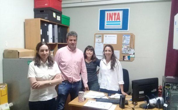 Reunión en la AER INTA Junín con nuevas autoridades de la Sociedad Rural de Junín