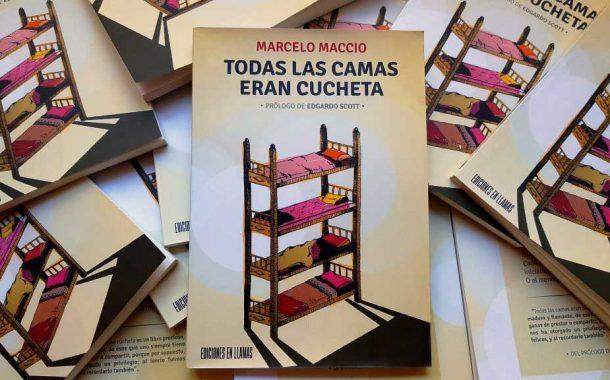 Marcelo Maccio presenta su primer libro en Rojas
