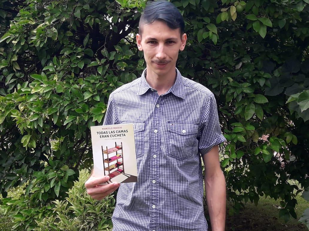 Este jueves, Marcelo Maccio presenta su libro en Rojas