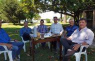 Autoridades de la Sociedad Rural de Junín recibieron al Ing. Agr. Daniel Coria
