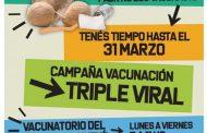Extienden la campaña de vacunación