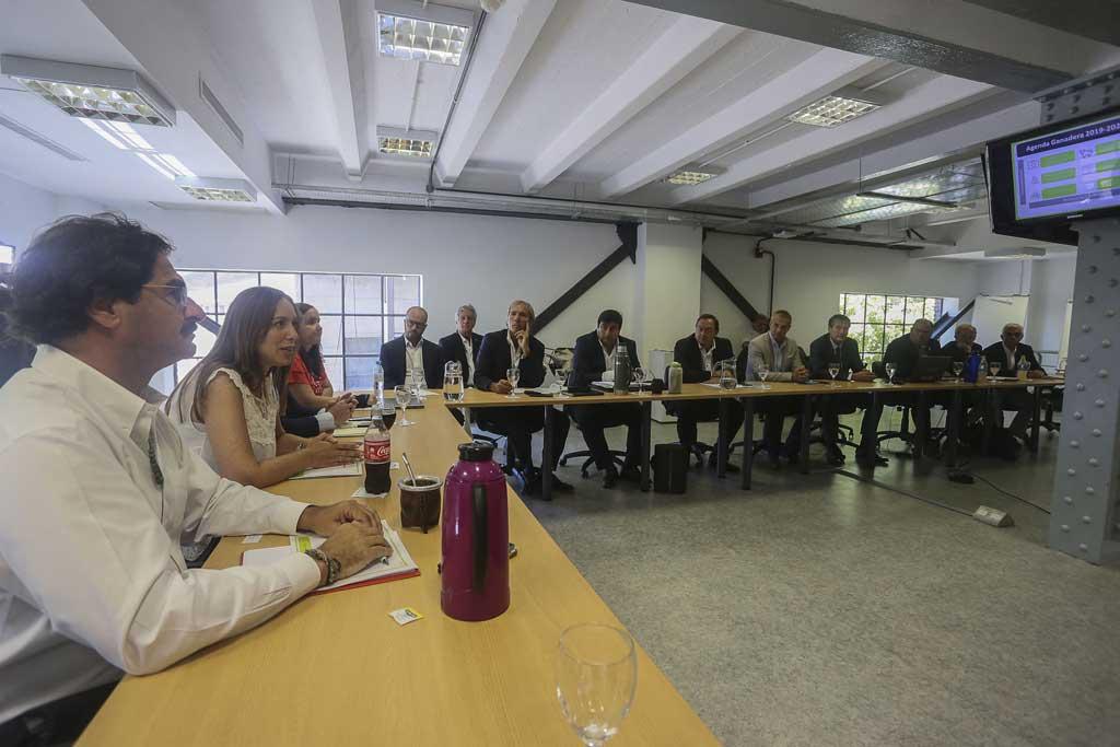 La gobernadora Vidal recibió a la mesa agropecuaria provincial