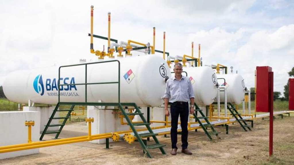 Puglelli anunció que el 25 de febrero se inaugurará la planta de gas en Cucullú